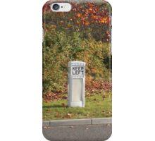 Vintage Traffic Bollard iPhone Case/Skin