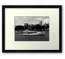 Bay Cruiser Framed Print