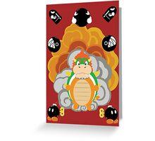 Bowser Blast! Greeting Card