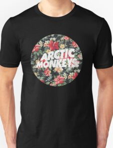Arctic Monkeys Floral  T-Shirt