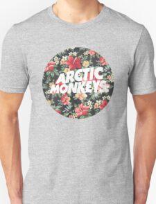 Arctic Monkeys Floral  T-Shirt