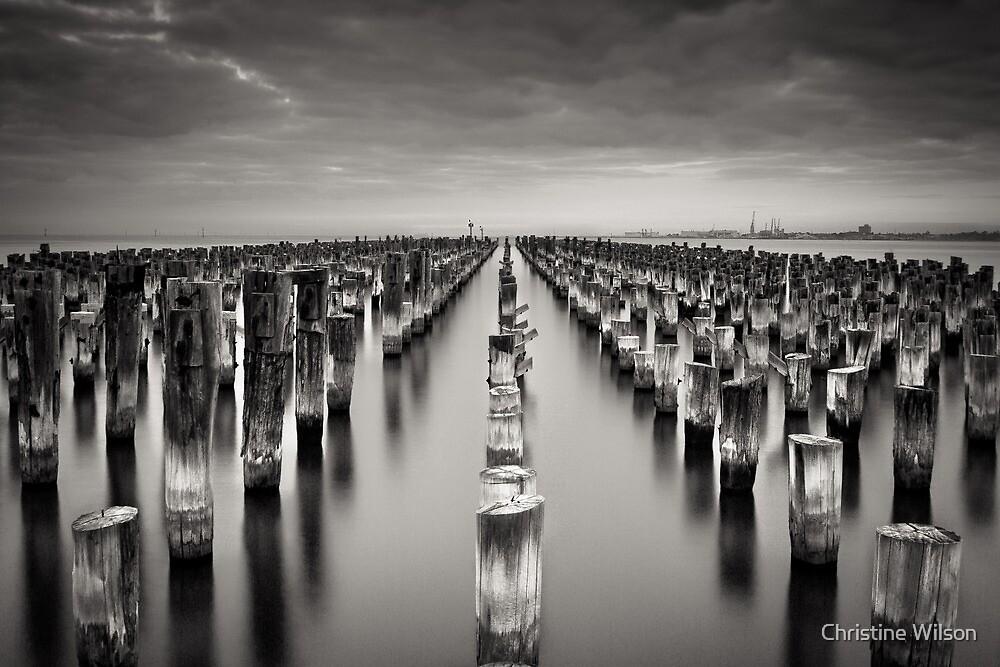 Old Princes Pier by Christine Wilson