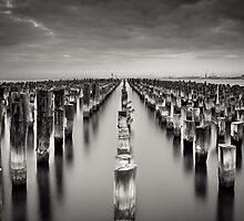 Old Princes Pier by Christine  Wilson Photography