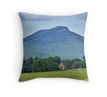 Short Mountain Throw Pillow