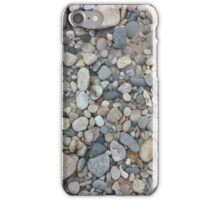 Ocean-Smoothed Stones in Narragansett, RI iPhone Case/Skin