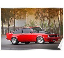 Les Chadwick's LX Holden Torana Hatch Poster