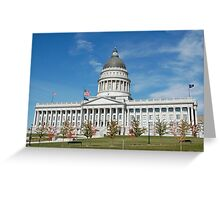 Capitol  Greeting Card
