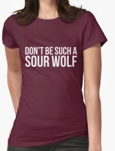 Sour Wolf - white text T-Shirt