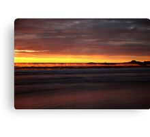 seaspray. eastcoast, tasmania  Canvas Print