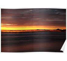 seaspray. eastcoast, tasmania  Poster