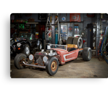 Paul's Rat Rod Canvas Print