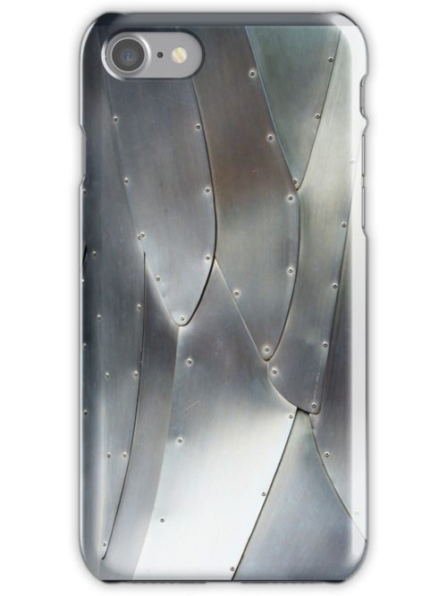 Metallic Pattern - iPhone Case by Christopher Herrfurth