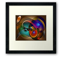 Dance with me...... Framed Print