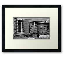 Grain Boats and BBC Framed Print