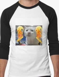 Atomic Cat Men's Baseball ¾ T-Shirt
