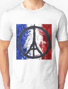 France Des Pray Prières Flag France T-Shirt
