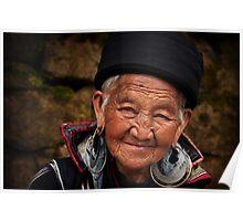 Grandmother - Sapa - Vietnam Poster