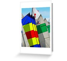 Mast in Colors Greeting Card