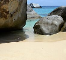 Rock, Sand and Sea by DebbyTownsend