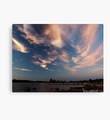 Dusk Skyscape over the Ottawa River Canvas Print