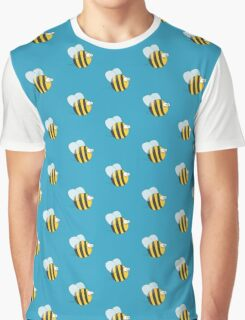Cool & Crazy Funny Bee / Bumble Bee (Sweet & Cute) Graphic T-Shirt