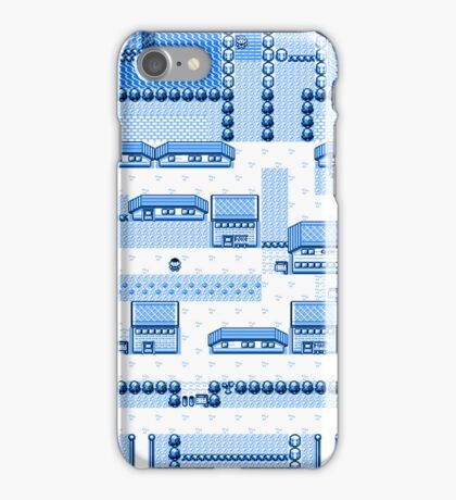 Cerulean City iPhone Case/Skin