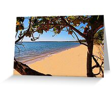 The magic of Arnhem Land - an isolated beach Greeting Card