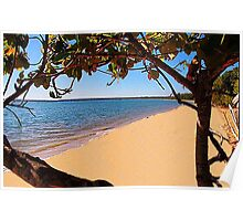 The magic of Arnhem Land - an isolated beach Poster