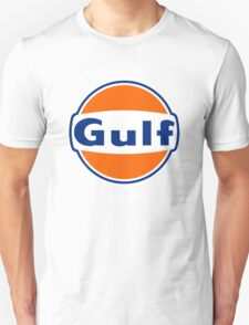 Vintage Gulf Racing Old Lubricant oil T-Shirt