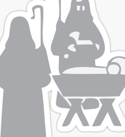 Nativity 1 Sticker