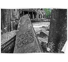 The Fallen, Bayon, Cambodia Poster