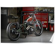 Evolution Retro Jap' Bobber Poster