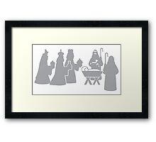Nativity 2 Framed Print
