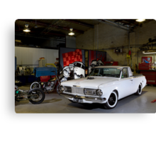 Kyle Smith's Valiant Wayfarer Ute Canvas Print