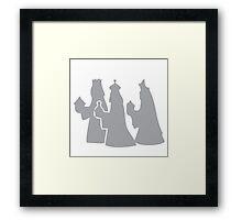 Wise Men Framed Print