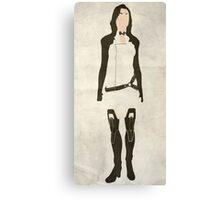 Minimalist Miranda Canvas Print