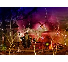 Elemental Magic Photographic Print