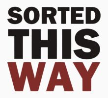 Sorted This Way by Trisha Bagby