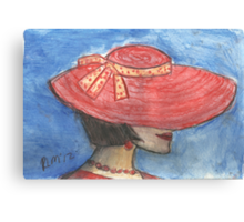 Kiki's New Hat Canvas Print