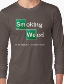 Smoking Weed Long Sleeve T-Shirt