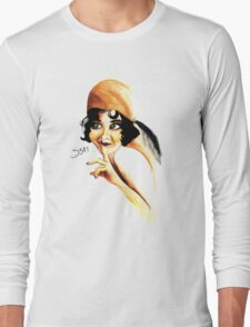 Silent Film Star Long Sleeve T-Shirt