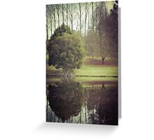 Beside the Lake Greeting Card