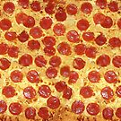 Delicious Pepperoni / Salami Pizza - Pattern with extra cheese by badbugs