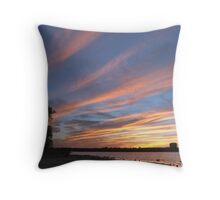 Sunset Skyscape over the Ottawa River Throw Pillow