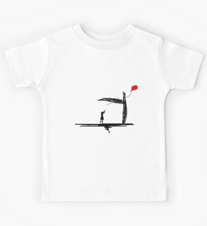 The Balloon Has Escaped Kids Tee