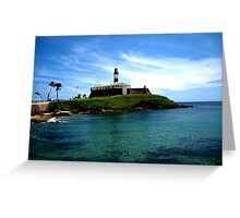 Barra Lighthouse  Greeting Card