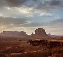 John Ford's Point, Monument Valley by Philip Kearney