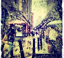 Rain Street by MaxineTing