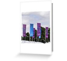 Eventing Banners Greeting Card