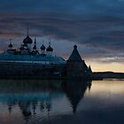 Solovki sunset by Sergey Martyushev